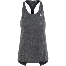 Odlo BL Millennium Linenco Koszulka do biegania bez rękawów Kobiety, black melange